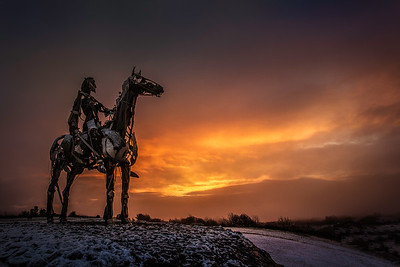 The Chieftain at Sunrise