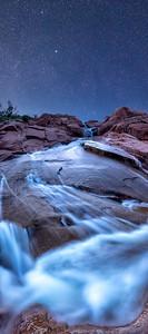Gunlock Reservoir Falls