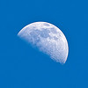Afternoon Moon (2/11/11)<br /> Allen, Texas
