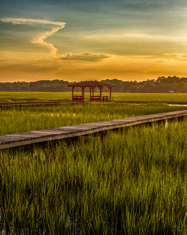 Pawleys2014-1397 (Late Afternoon Light over Marsh)