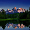 The Teton Range from Schwabacher's Landing - This image took 2nd place in the 2010 Wiley Publishers Travel Photo Contest.