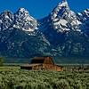 Moulton Barn at Mormon Row<br /> Grand Teton National Park