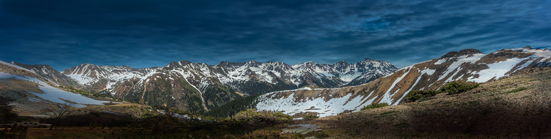 San Juan Mountains Panorama
