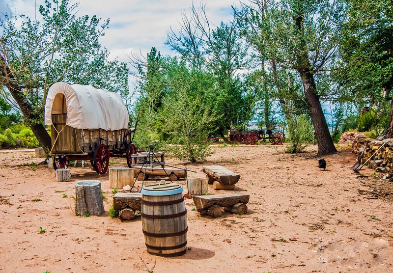 Replica Cowboy Camp