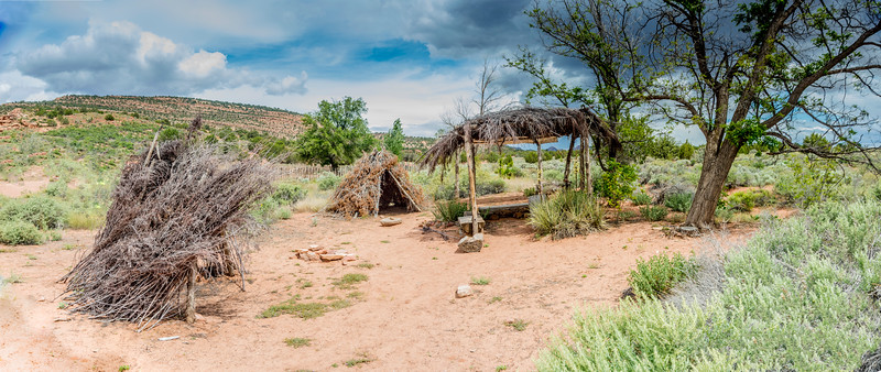 Paiute Indian camp