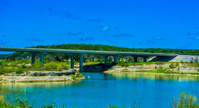 Hwy 36 Bridge, Lake Belton, Texas