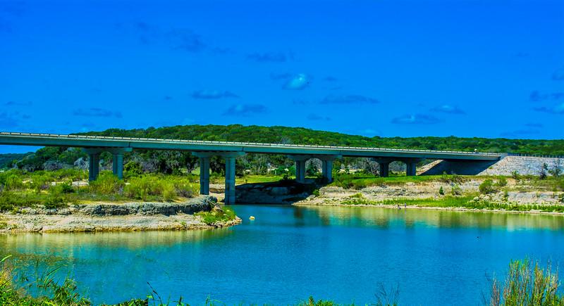 Hwy 36 Bridge, Lake Belton, Texas