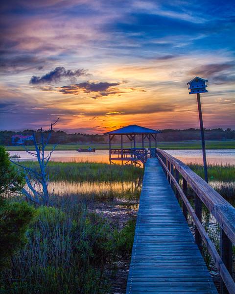 Pawleys2014-9566 (Dock Walk Sunset)