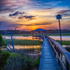 Pawleys2014-9566 (Dock Walk Sunset)