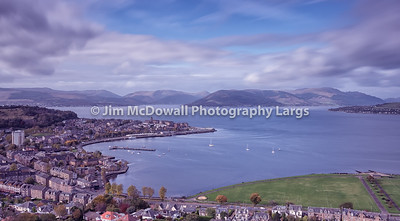 Gourock Bay From Lyle Hill Greenock
