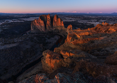 Sunrise at Smith Rock State Park