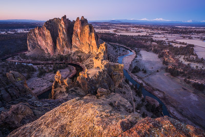 Around the Bend at Smith Rock