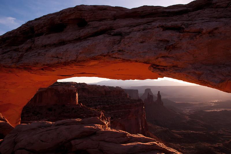 Delicate ArchMesa Arch