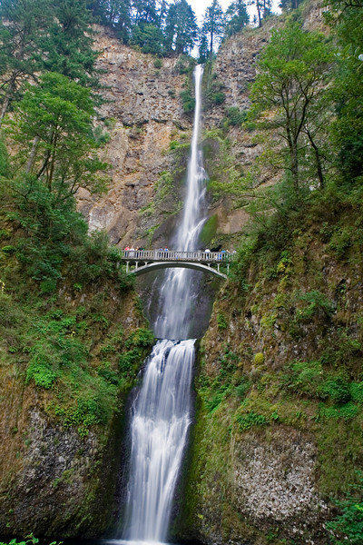 Multnomah Falls at Columbia River Gorge