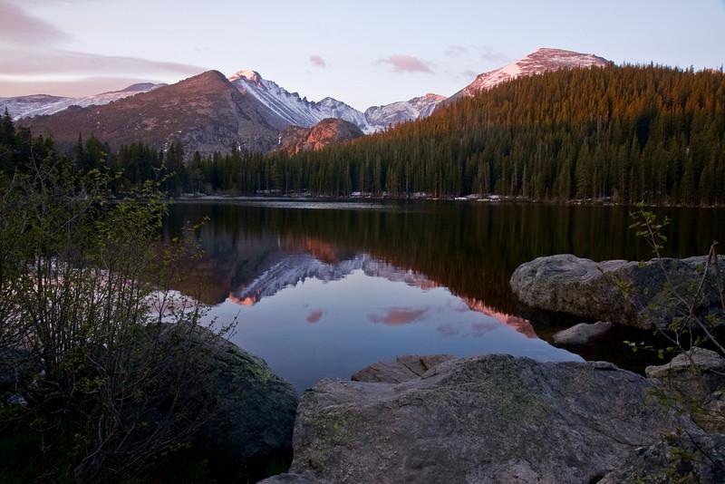 Bear Lake at sunrise - what a peaceful location