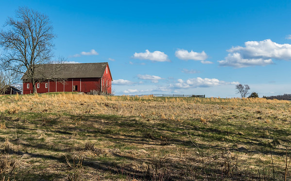 Gettysburg Barn