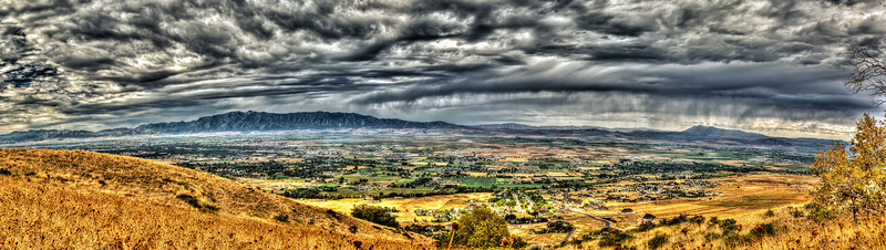 Cache Valley Late Summer