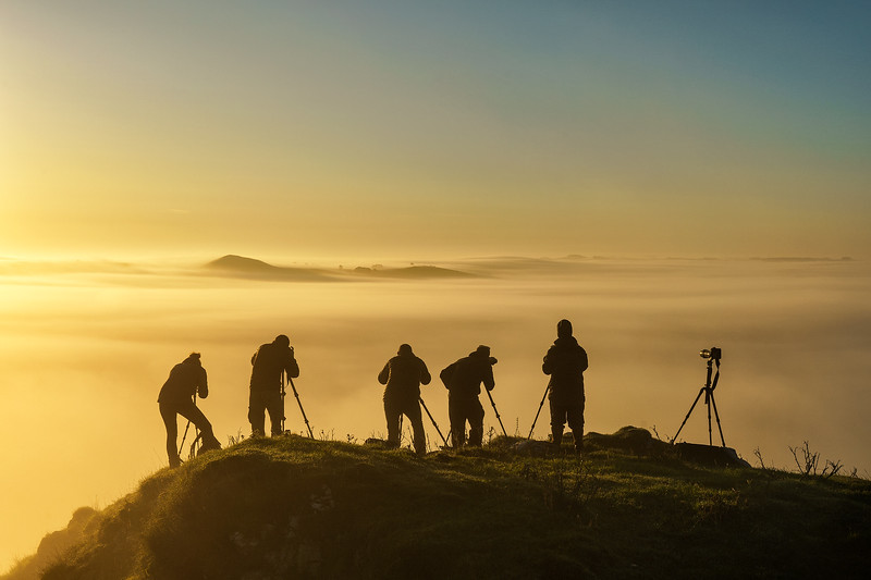 Above the Clouds - Chrome Hill - Peak District National Park