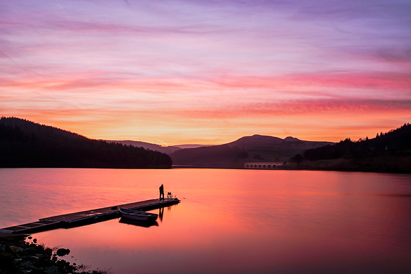 The Fisherman - Ladybower Reservoir - Peak District National Park