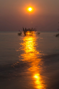 Sunset on Lake Tanganyika
