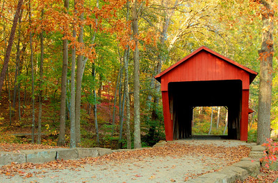 Covered Bridge in Ohio