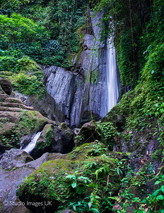 Dusun Kuning Waterfall in Bali.