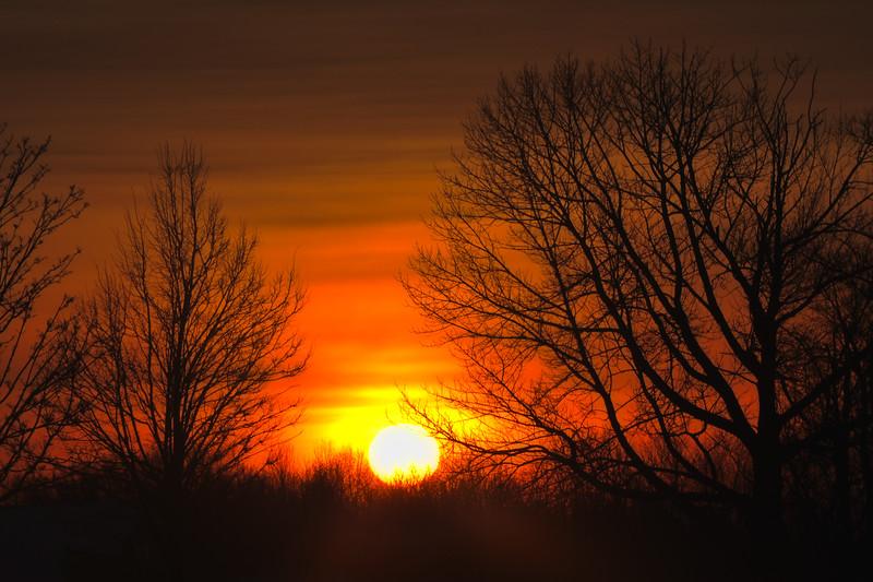 Morning Sunrise Photography Print