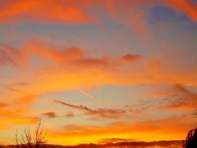 Orange Sky Photography, Orange Sky Photo Print