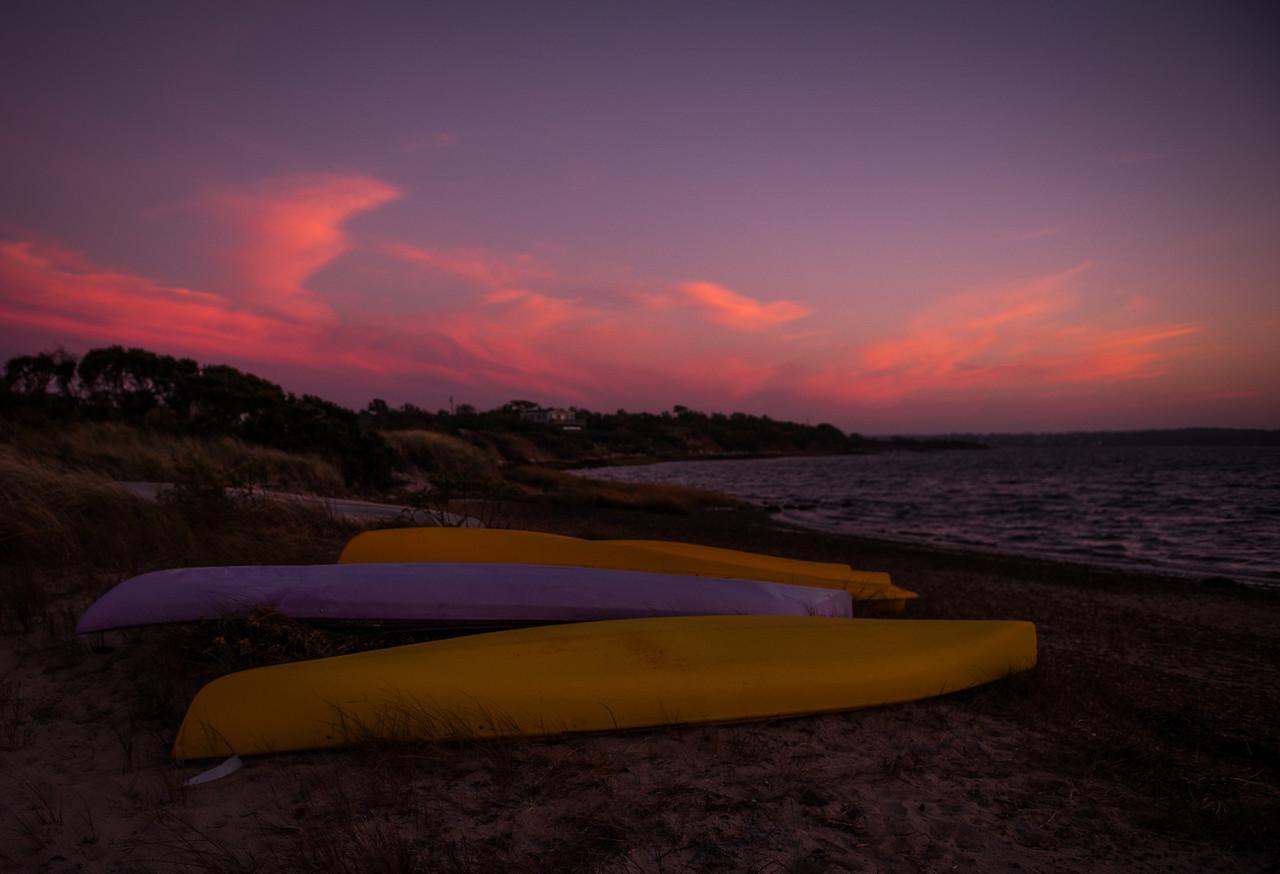 Great Salt Pond Sunset