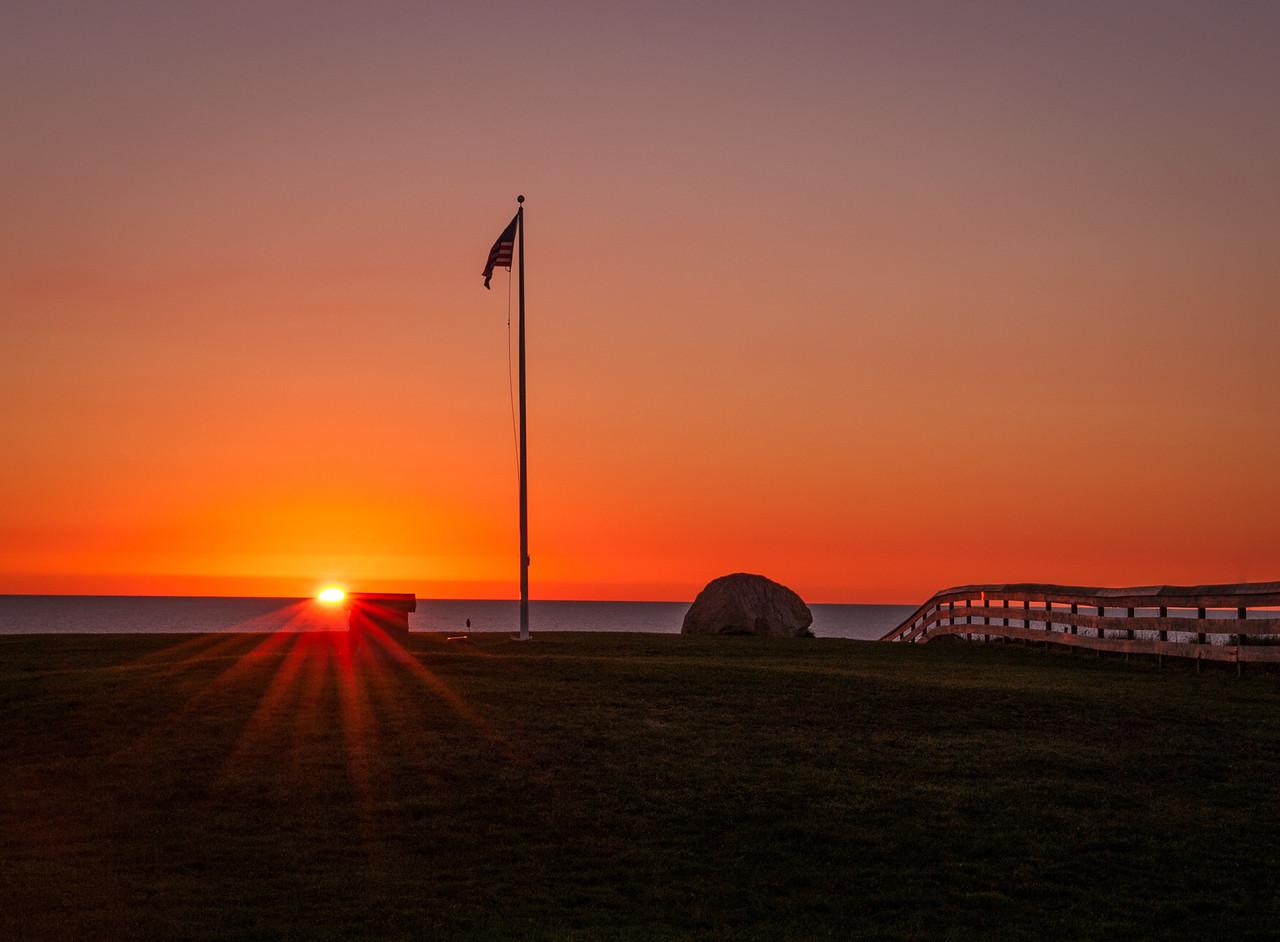 Sunrise at Southeast Light