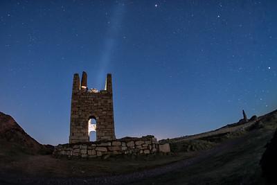 Night Light in the Poldark Mine
