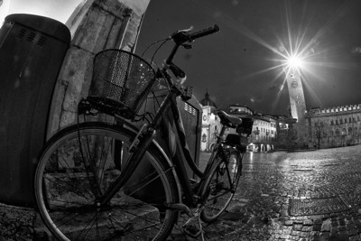 Bike and Duomo Trento