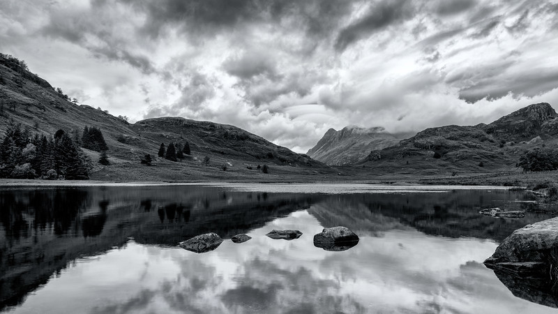 Blea Tarn and the Langdales