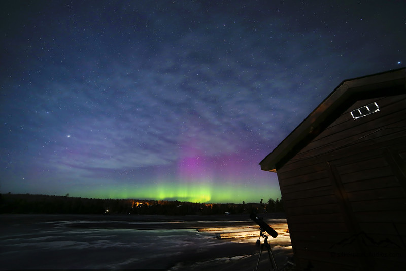 Aurora Borealis - Northern Lights - Temagami, Ontario