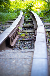 Railroad Track on the Highline