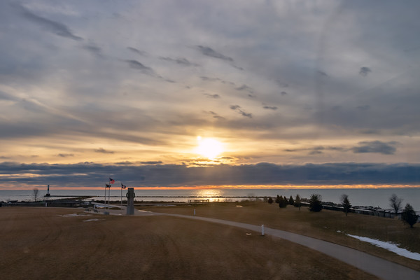 Late Sunrise from Coal Dock Park