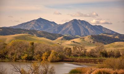 Mount Diablo from Marsh Creek