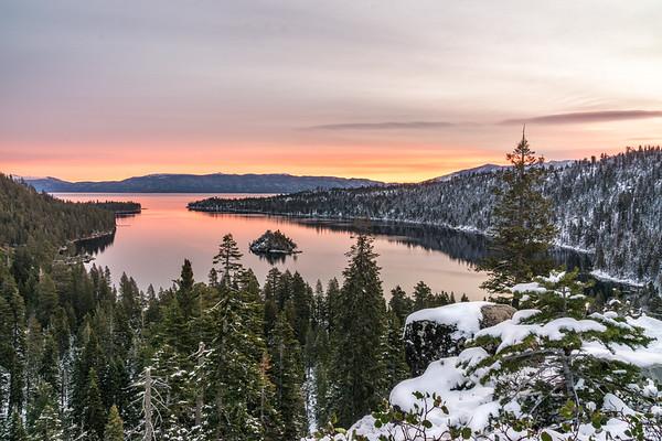 Landscape Photography   Lake Tahoe Sunrise