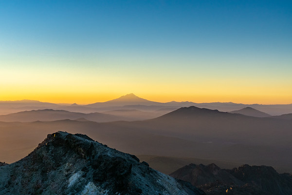 Landscape Photography | Lassen Volcanic National Park | Mt Shasta Sunset