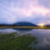 Mount Si Sunrise Reflection Meadowbrook Farm