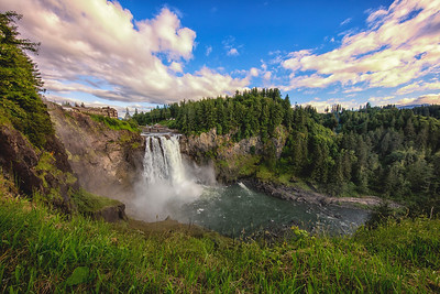 June Snoqualmie Falls