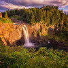 July Snoqualmie Falls