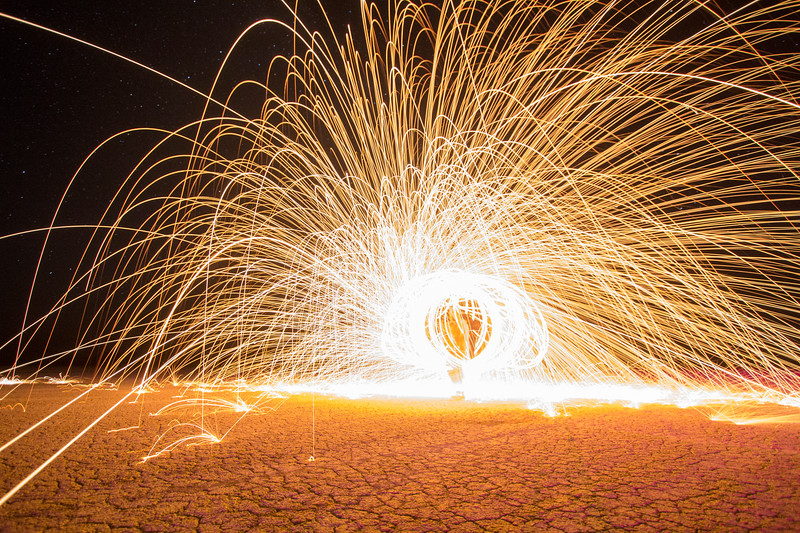 Steel Wool Spinning (pt. 4)