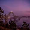 Yaquina Bay Bridge January Sunset