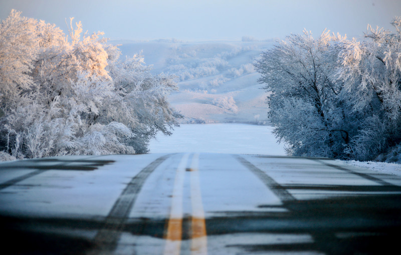 Winter Frost Saskatchewan