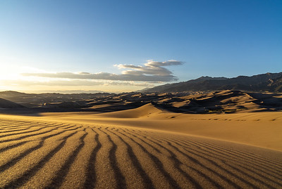 PATTERNS IN SAND - GREAT SAND DUNES NATIONAL PARK