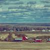 Country Life Panorama Sprague Washington - HDR