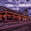 Snoqualmie Depot Christmas HDR