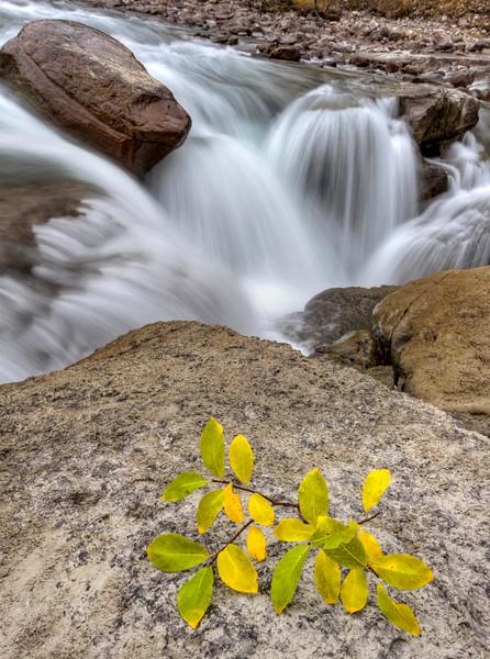Sunwapta Waterfall Alberta Canada
