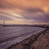 A glimmer of hope on a dull day at Shotley. By David Stoddart